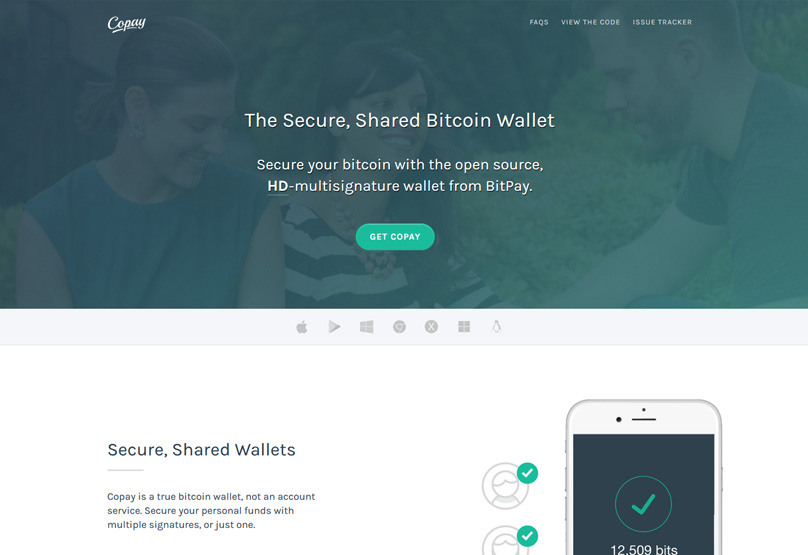 The Copay Bitcoin Wallet Is A Popular Free Software That May Be Used For Storing Only It Available As Desktop And Mobile IoS