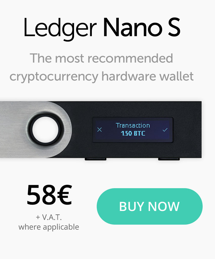 mining to ledger nano s