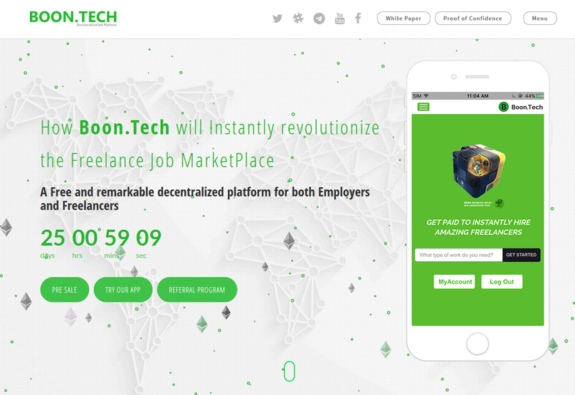 Boon Tech Website