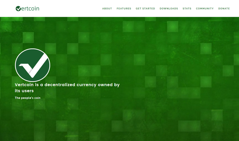 Vertcoin Website
