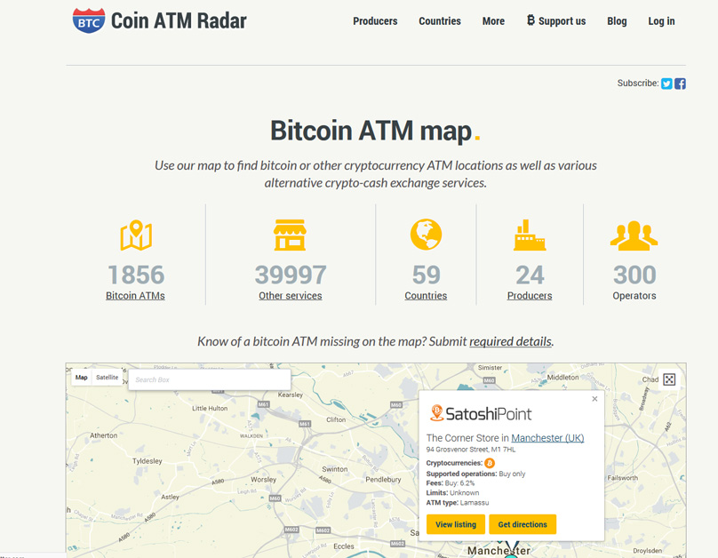 Guide To Bitcoin ATMs A Brief Primer On Buying BTC The Go