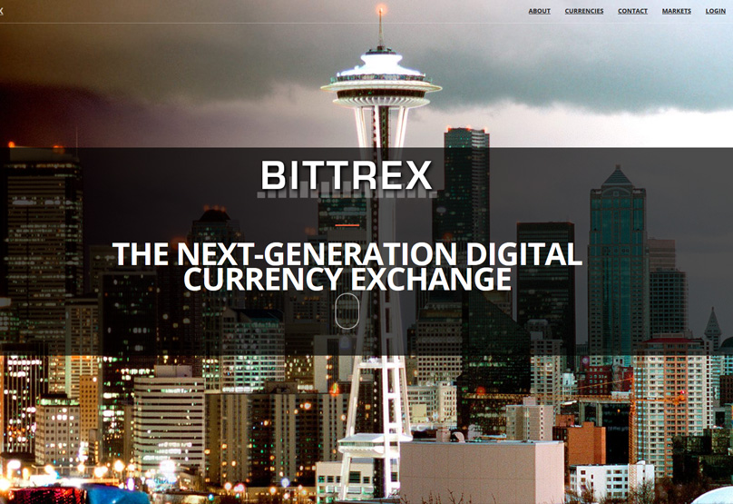 Bittrex Website