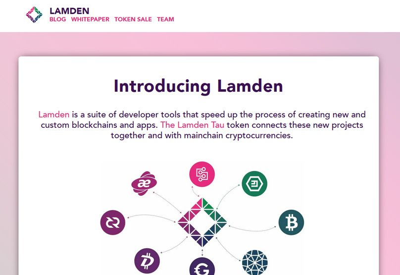 Lamden Website