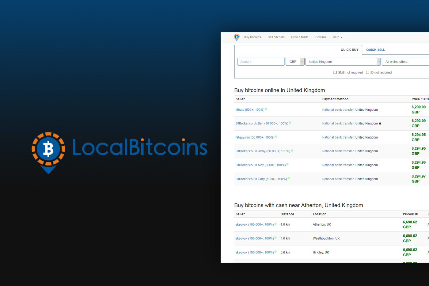 How to buy bitcoins on localbitcoins reviews i got rich off bitcoins free