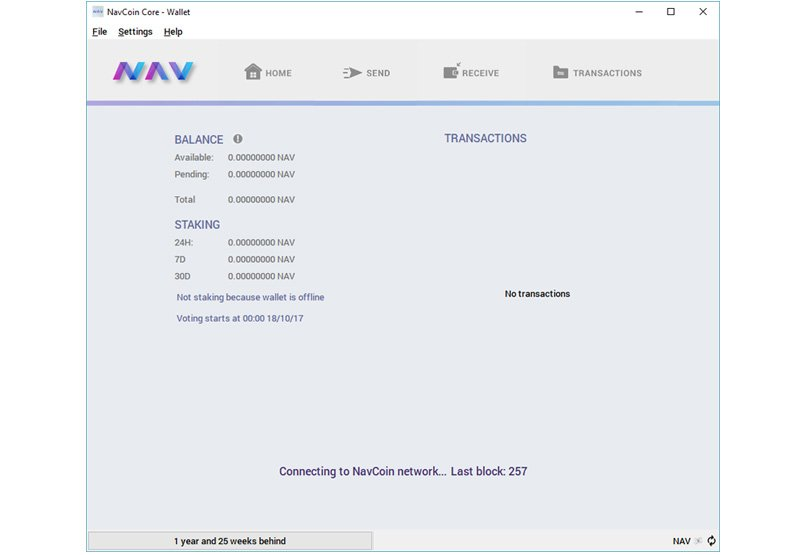Nav Coin Staking