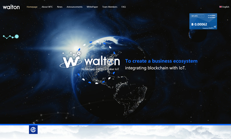 Waltonchain Website