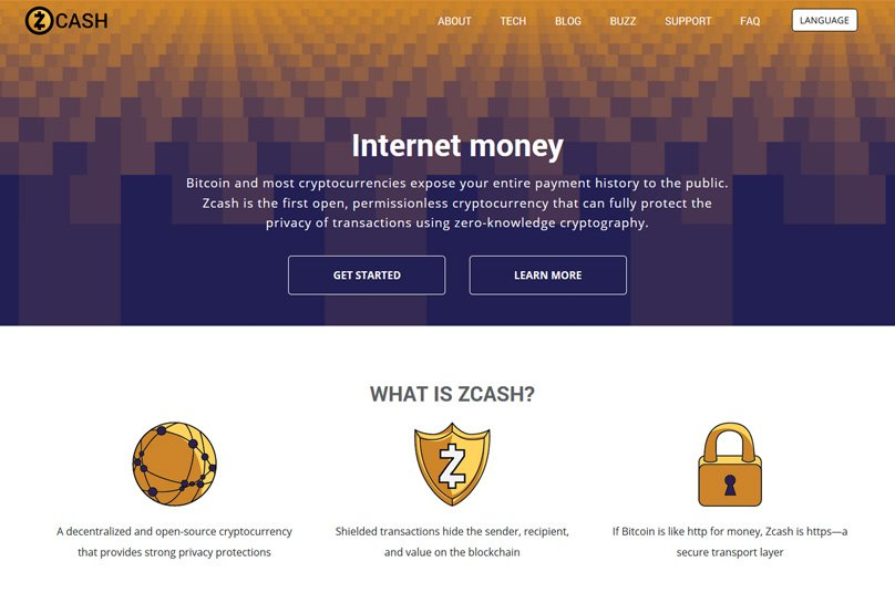 ZCash Website