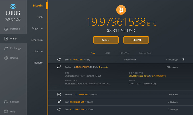 cryptocurrency wallet for all coins