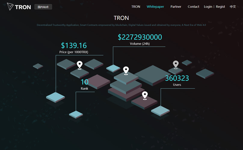 TRON Website