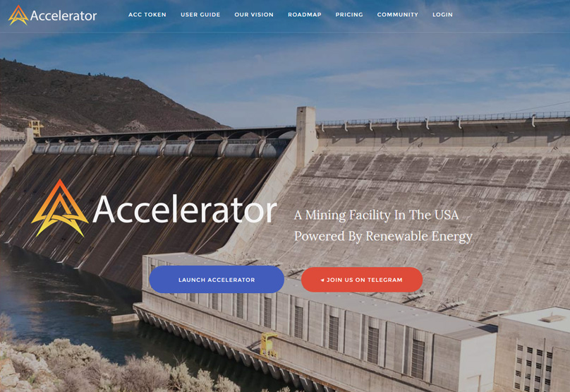 Accelerator Website
