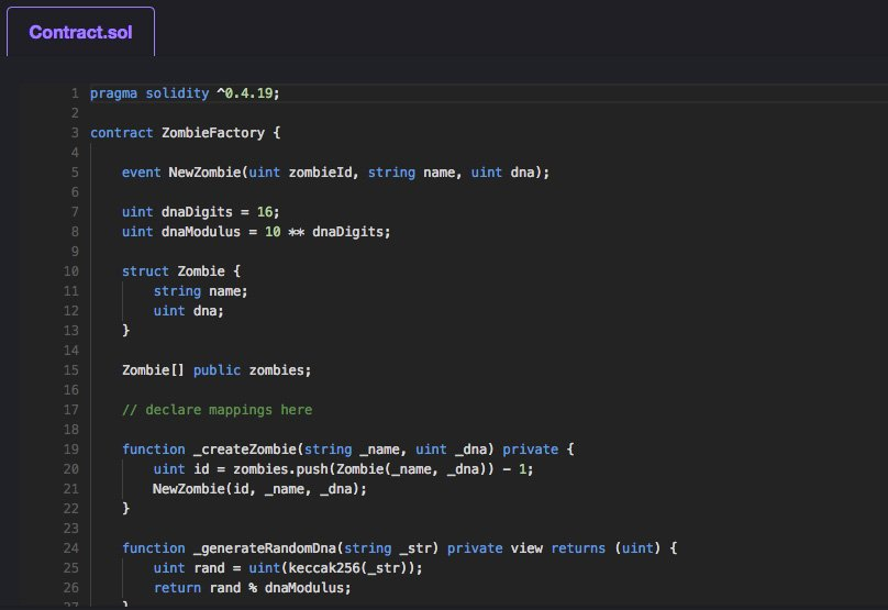 Solidity Code