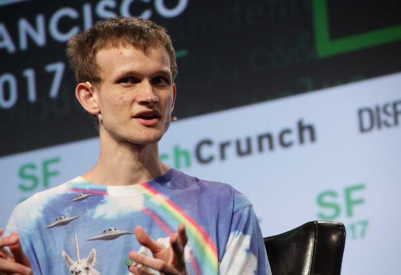 Vitalik at Disrupt SF