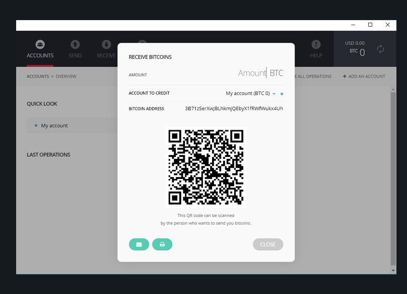 Ledger Bitcoin App