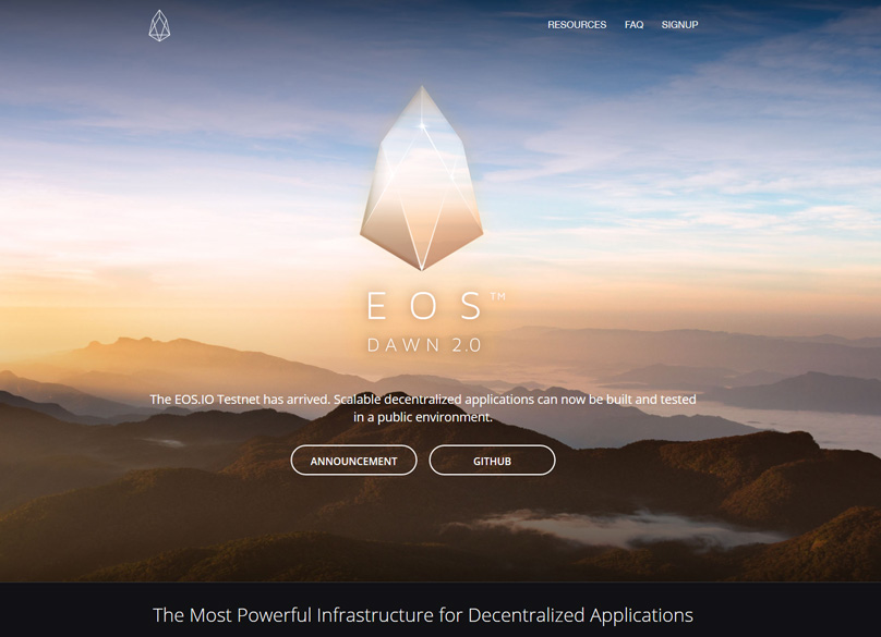 EOS Website