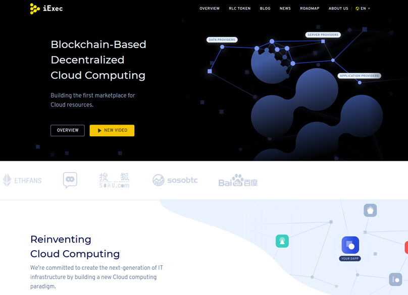 iExec Website