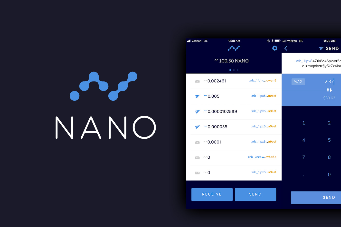 Nano Cryptocurrency Guide