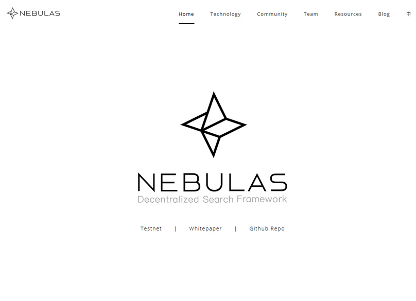 Nebulas Website