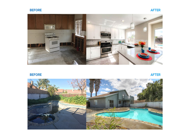 Property Before & Afters