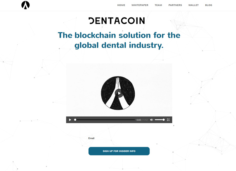 Dentacoin Website