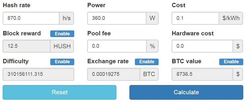 How To Mine Hush Hush Complete Beginner S Guide # # this is not for cpu or asic calculations. blockonomi