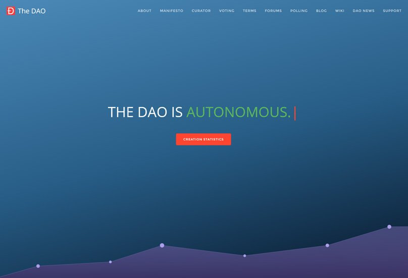 The DAO Website