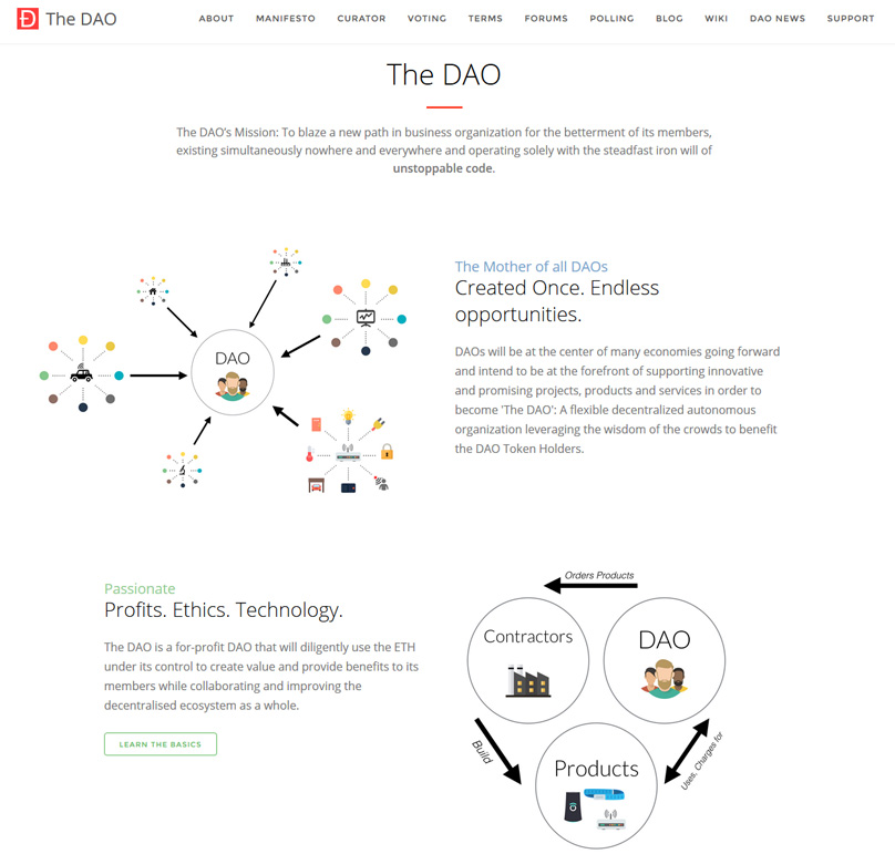 The DAO mission
