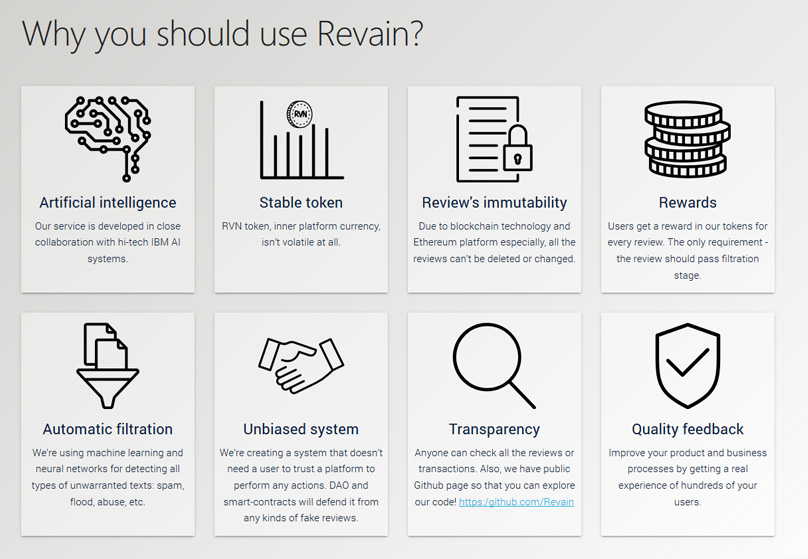 Why use Revain ?