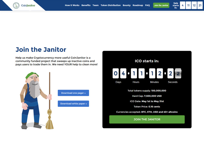 Coin Janitor