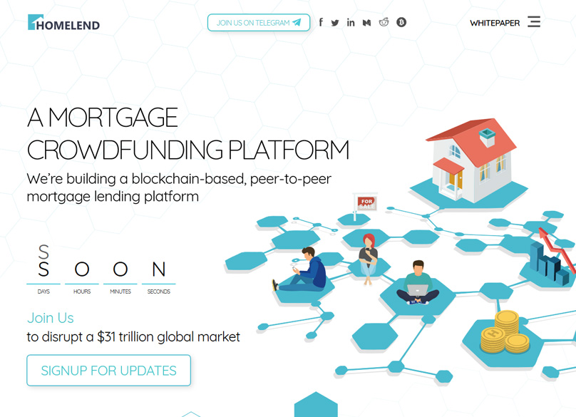 Homelend Website