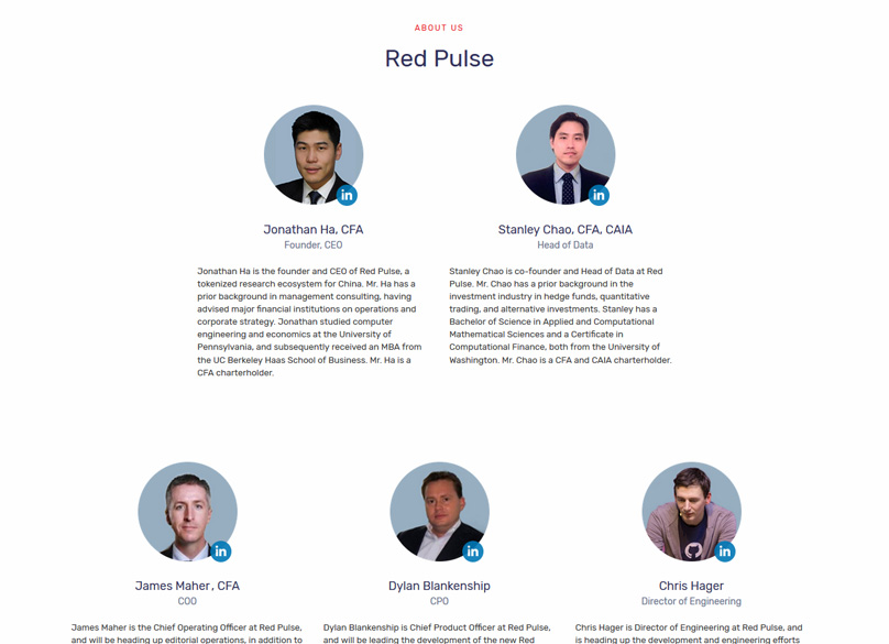 The Red Pulse Team