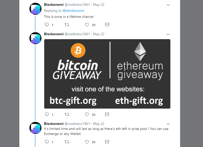 Twitter Scammers