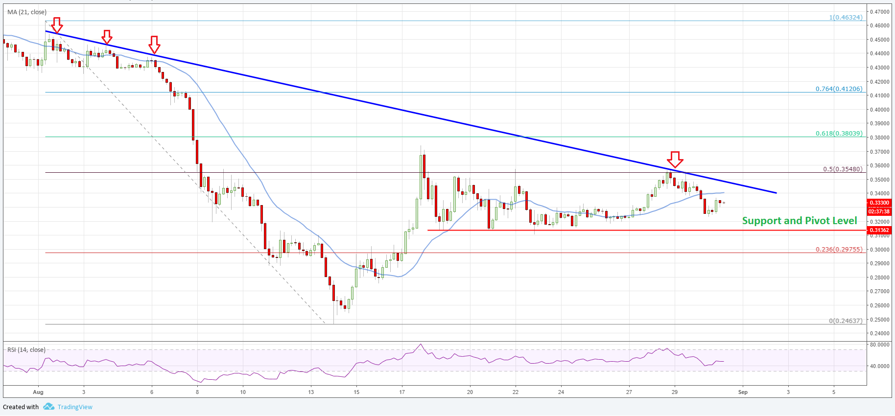 XRP price ripple analysis USD