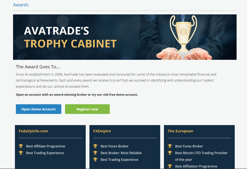 AVATrade Awards