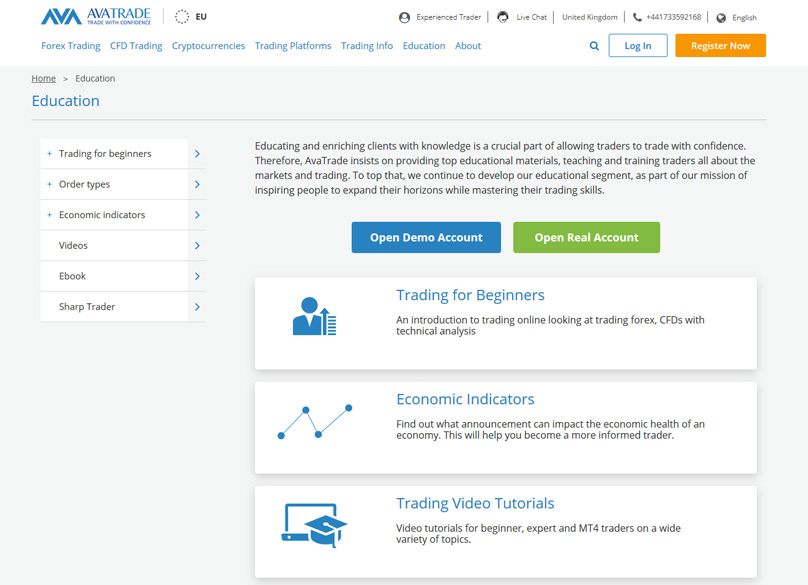 AVATrade Education