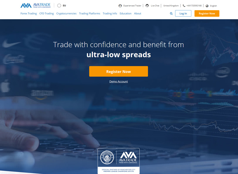 AVATrade Website