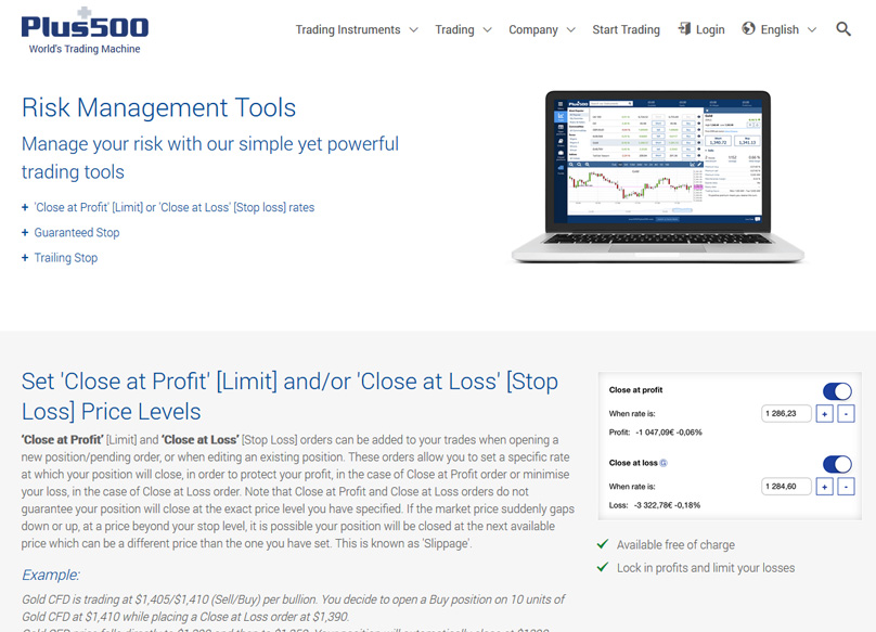 Risk Management Tools