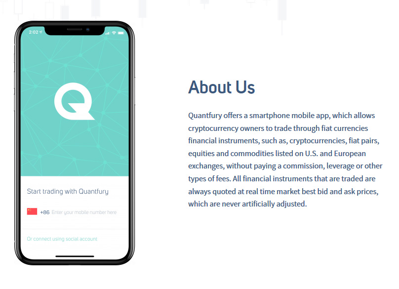 About Quantfury
