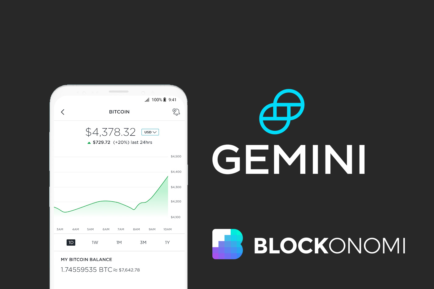 Gemini Announces Mobile Cryptocurrency Investment App