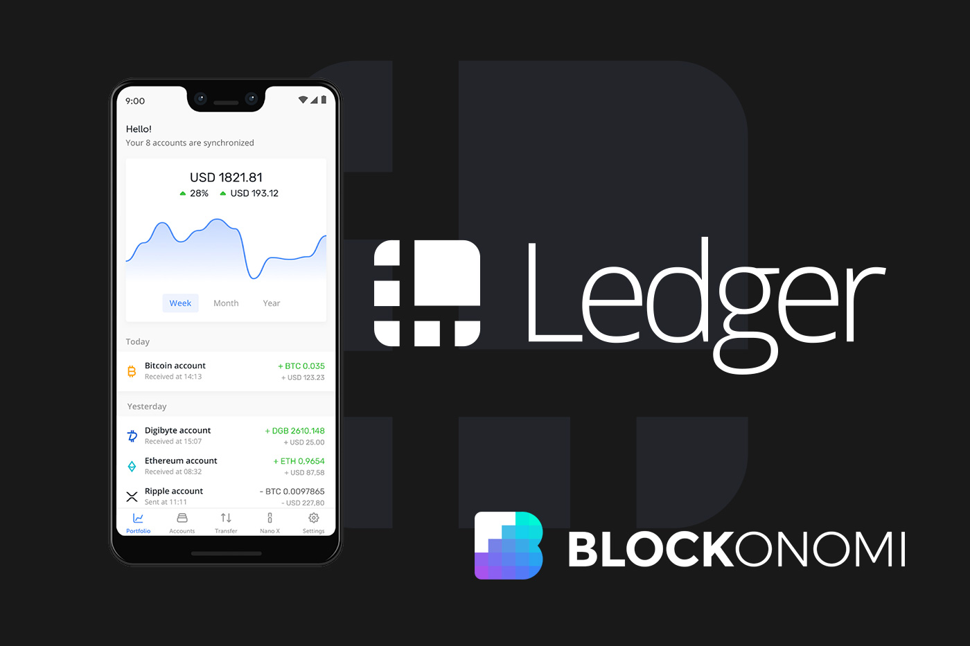 Ledger Live Mobile App