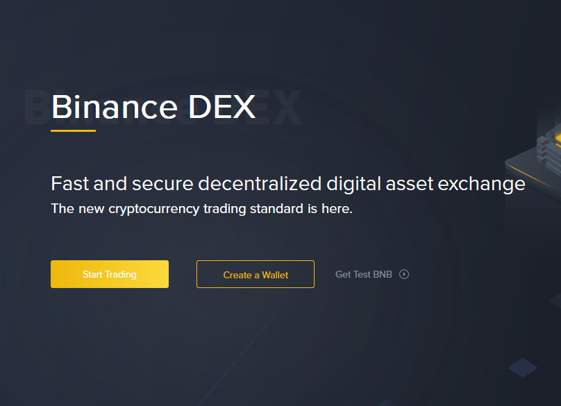 Binance DEX Account Signup