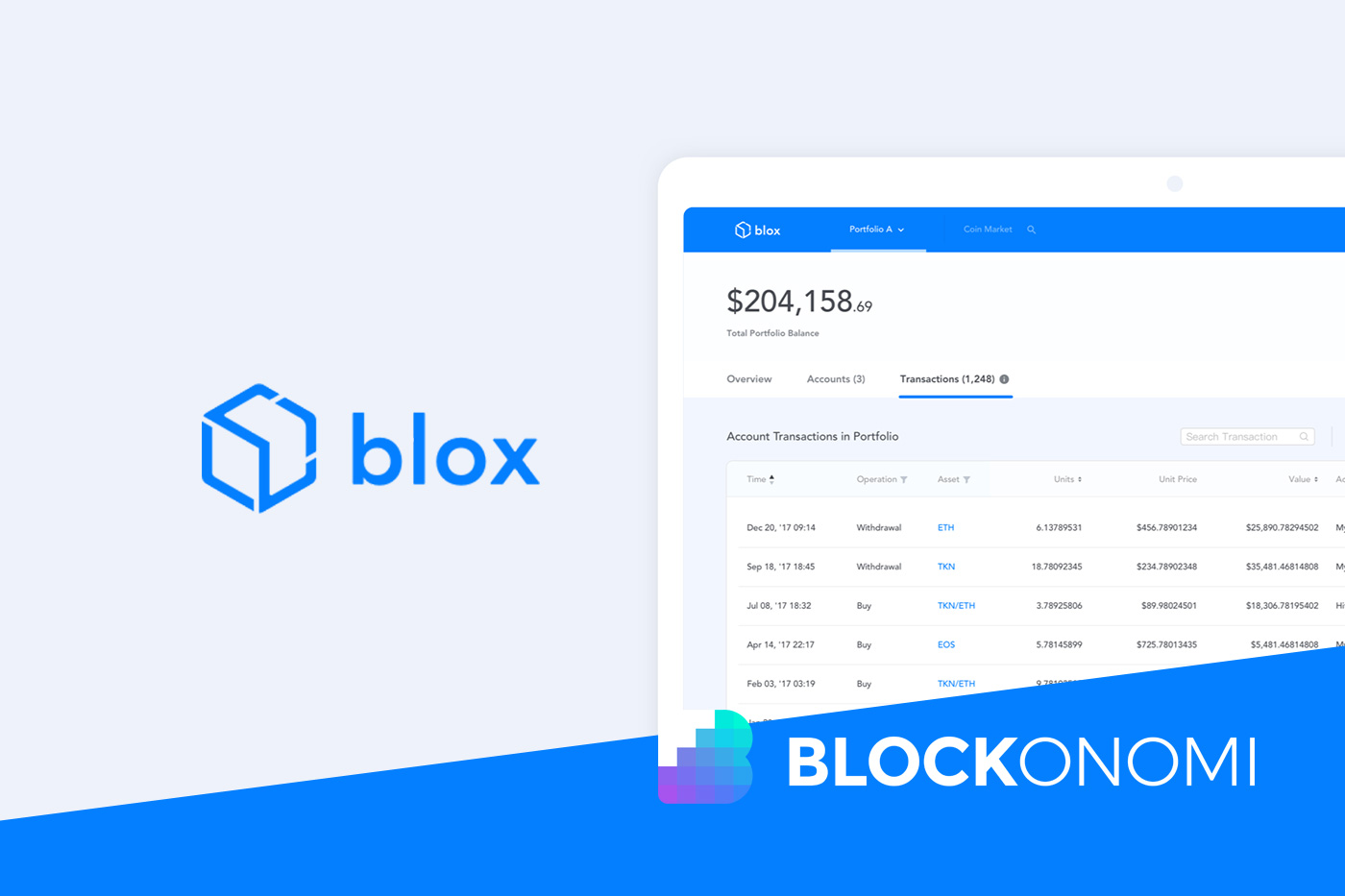 Blox Review: Crypto Asset Tracking, Management & Bookkeeping