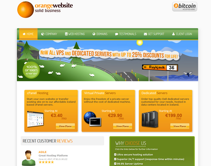 Orange Website
