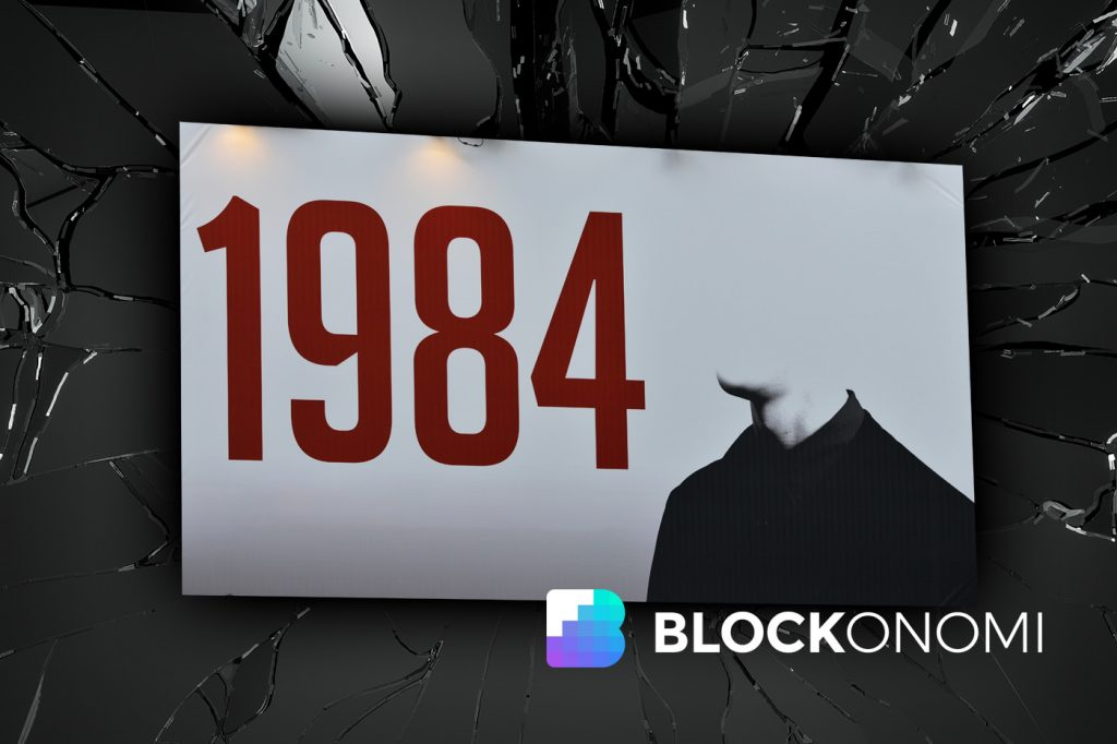 pre order great fit timeless design Black Mirror: 1984-Like Authoritarian Blockchains are a Real ...