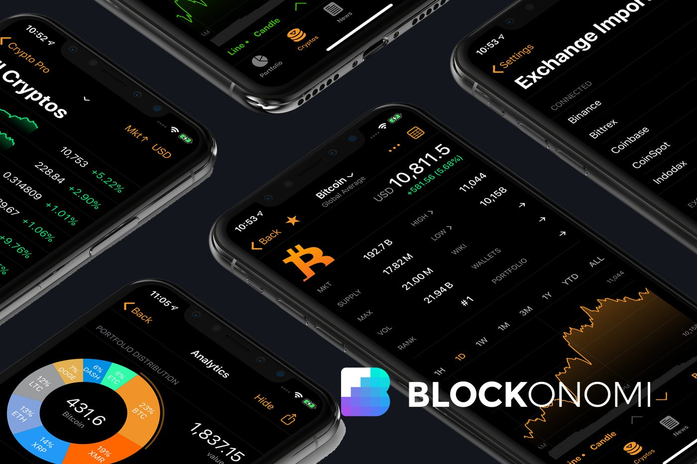 best iphone cryptocurrency portfolio app