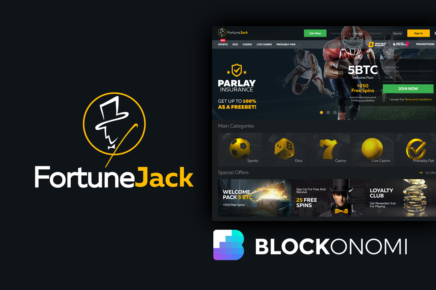 FortuneJack Review: Bitcoin Casino & Gambling Site