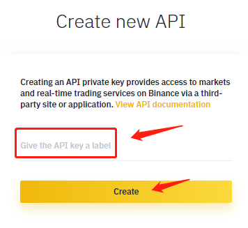Create a Binance API Key