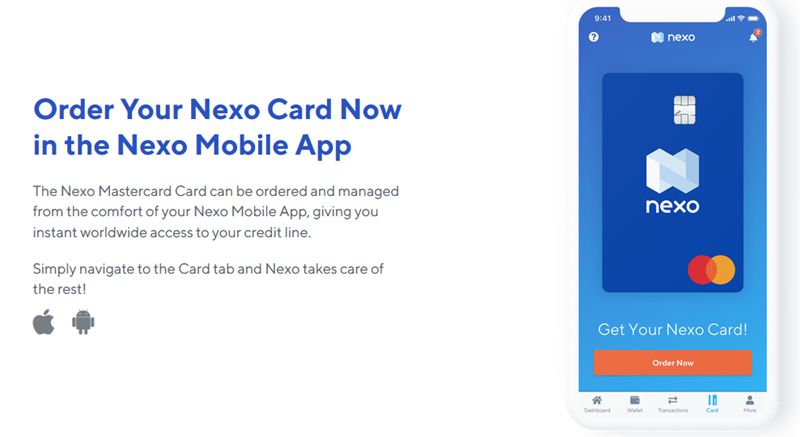 Nexo Credit Card