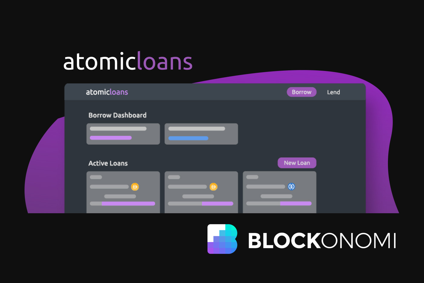 Atomic Loans Comes Out of <bold>Stealth</bold>: Non-custodial Bitcoin-backed loans