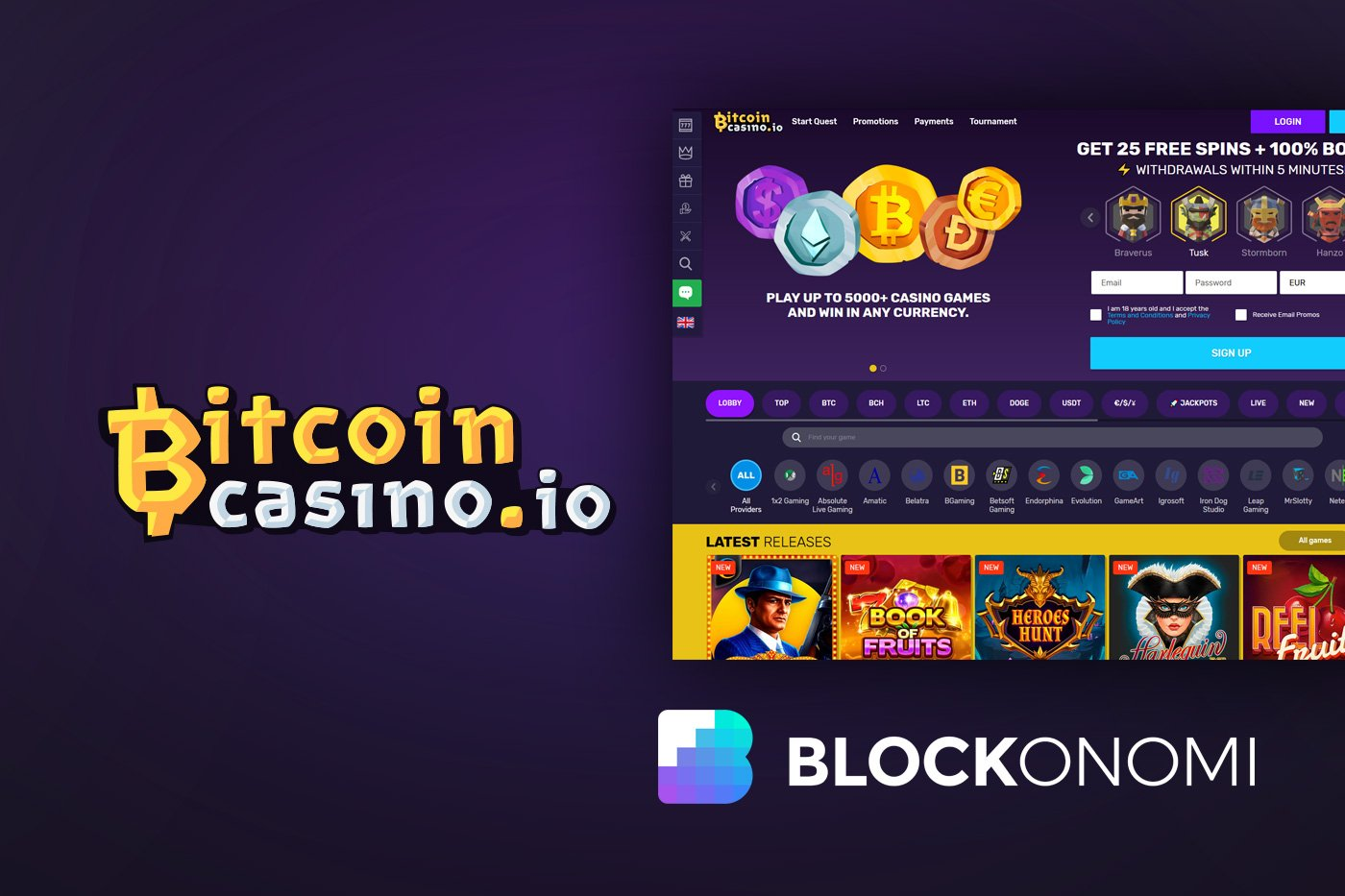 Bitcoin casino free play