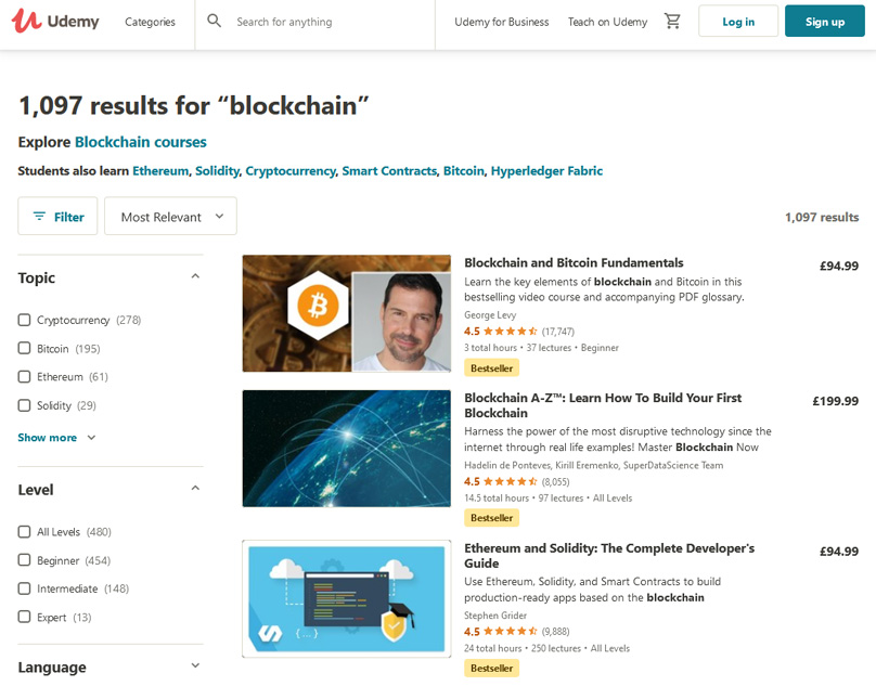 udemy best courses on technical anyalyis for cryptocurrency